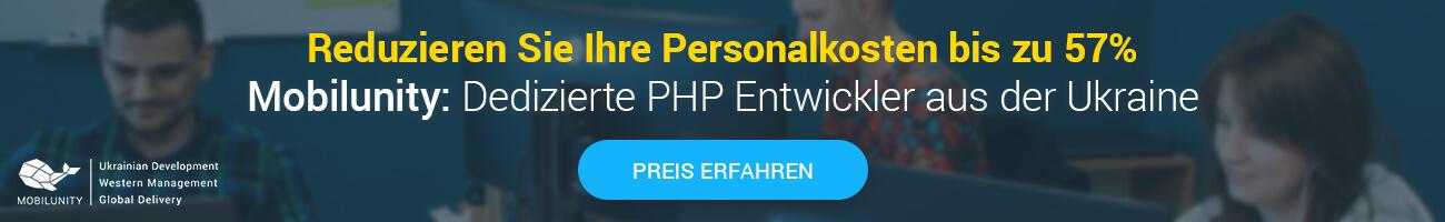 PHP Programmierer Gehalt