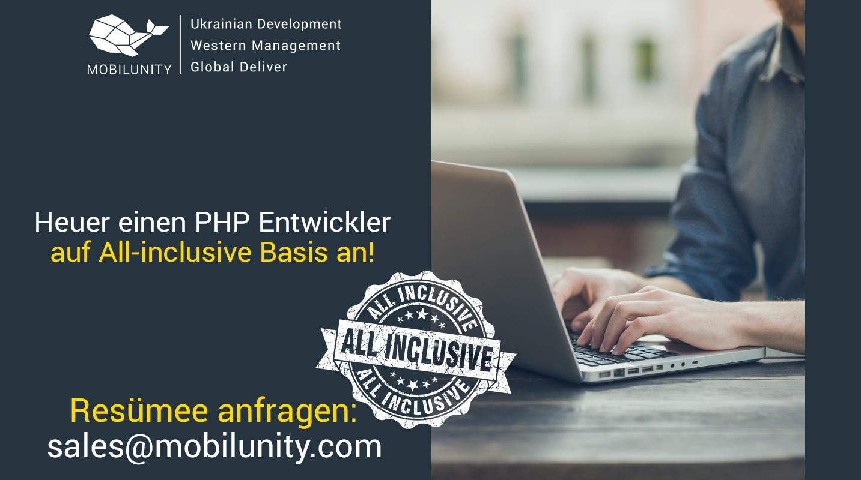 PHP programmierer mieten bei Mobilunity