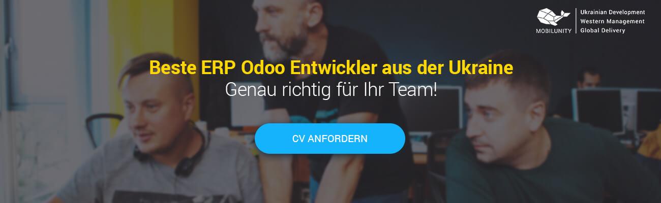 Odoo Entwickler anheuern