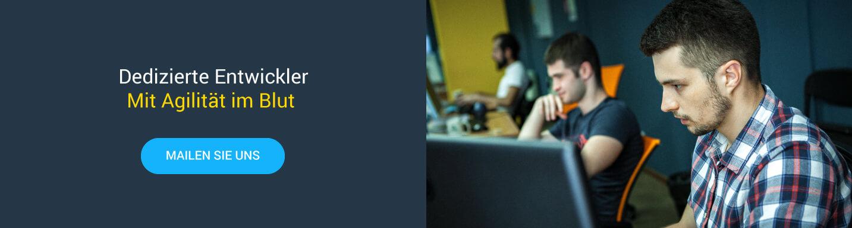 Agiler Entwickler gesucht