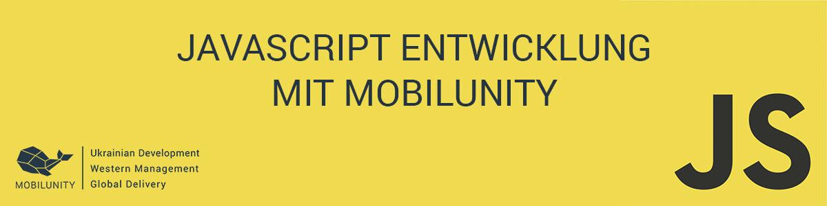JavaScript Entwicklung mit Mobilunity