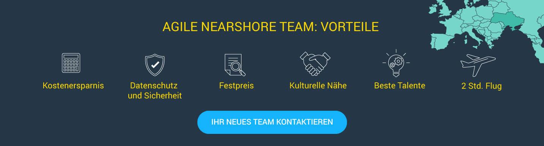 Nearshore Entwickler Team anmieten