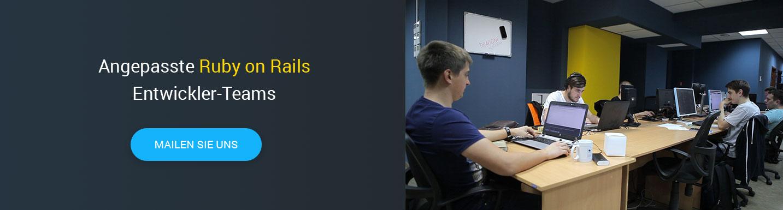Ruby on Rails Entwickler gesucht