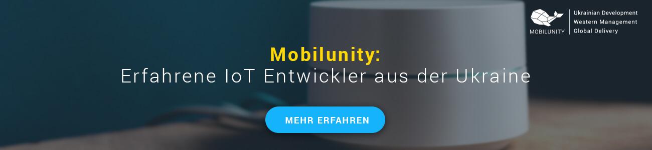 IoT Entwickler gesucht