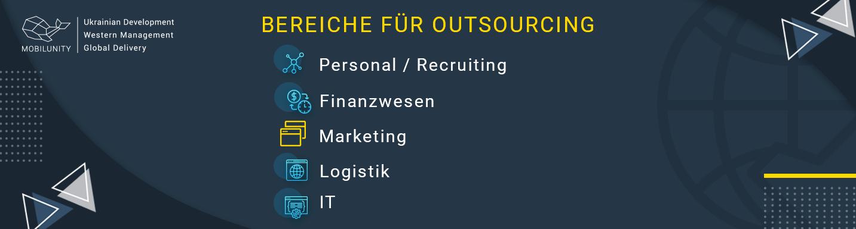 Bereiche für Outsourcing