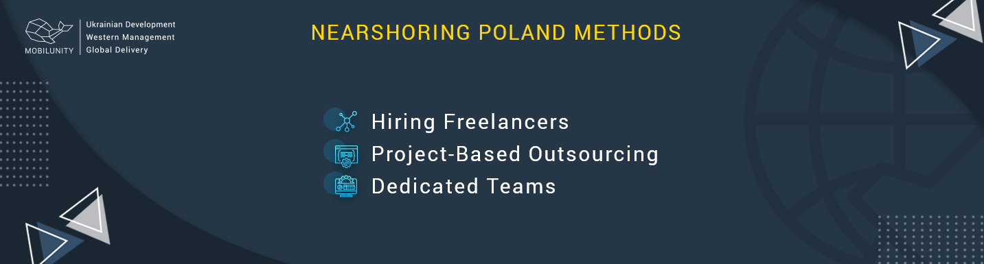 nearshoring poland methods