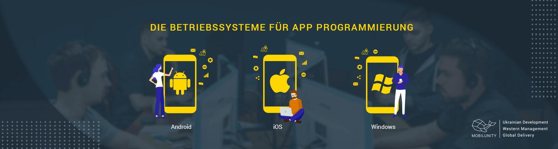 app entwicklung plattformen