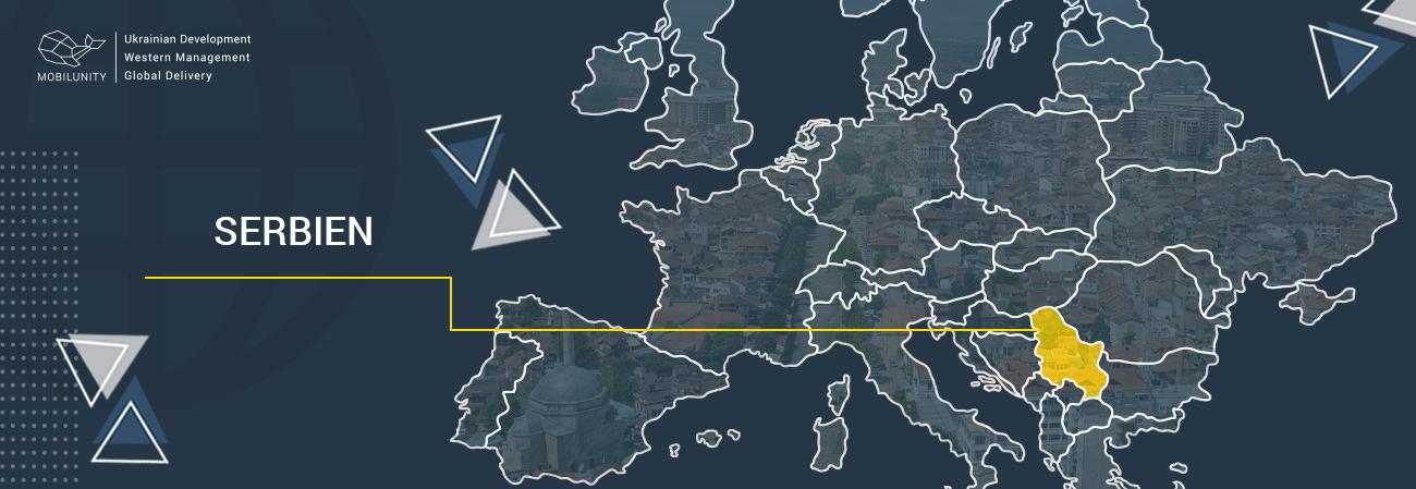 nearshoring serbia map