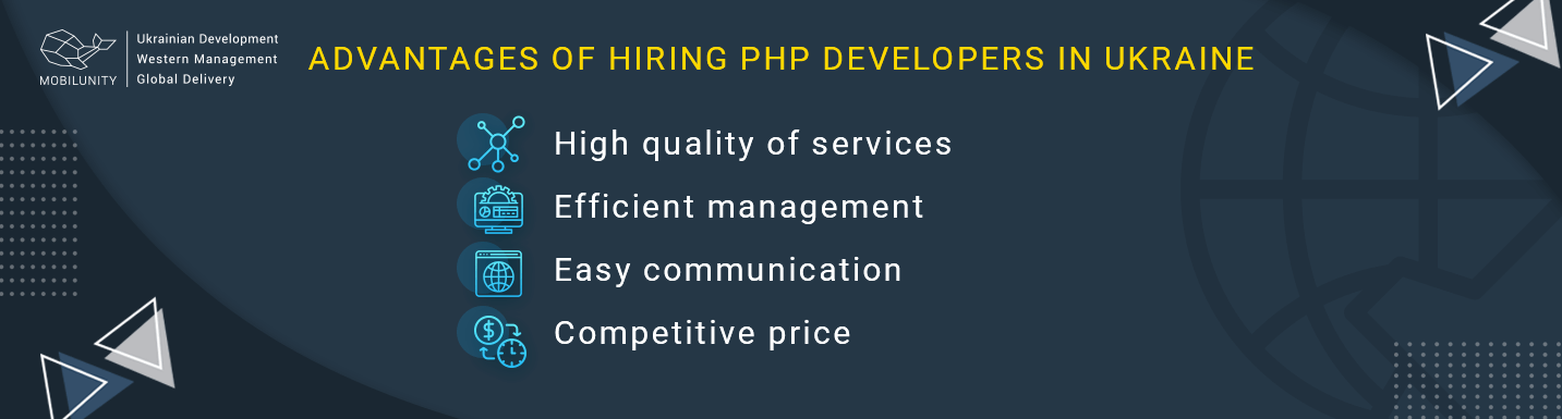 advantages to hire php developer ukraine