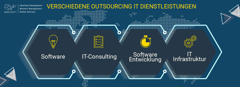verschiedene outsourcing it dienstleistungen