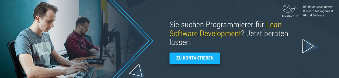 Programmierer für Lean Software Development