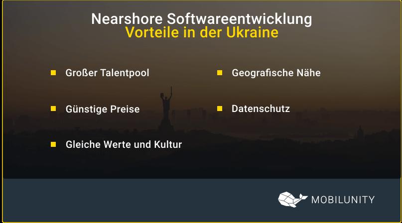 softwareentwicklung vorteile in der Ukraine