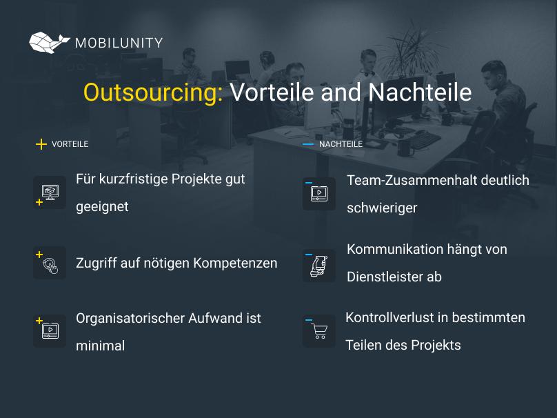software outsourcing vorteile und nachteile