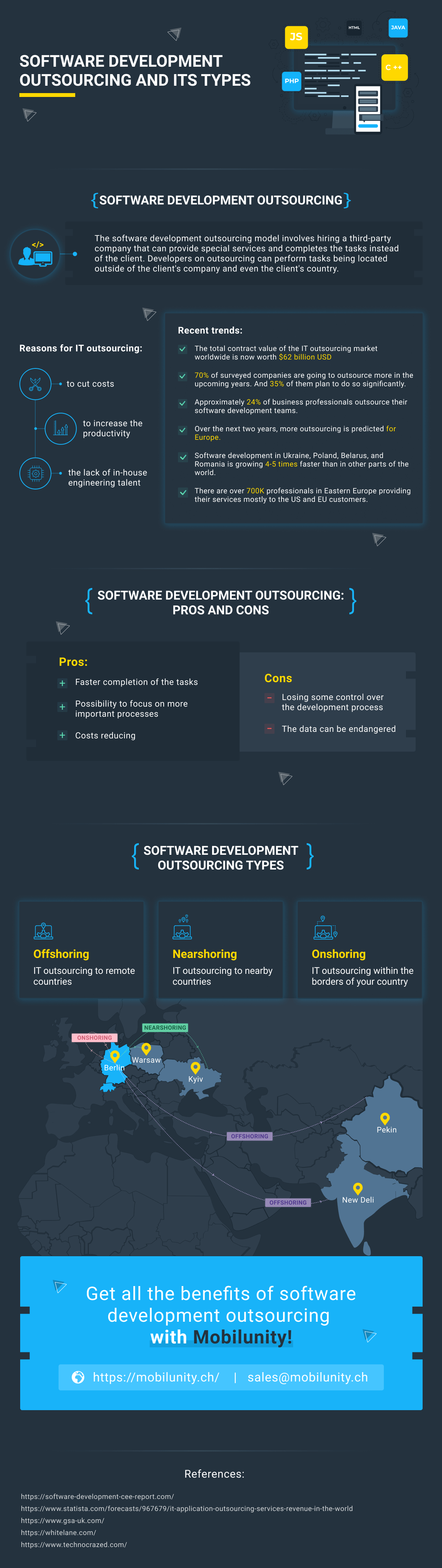 software development outsourcing with nearshore team