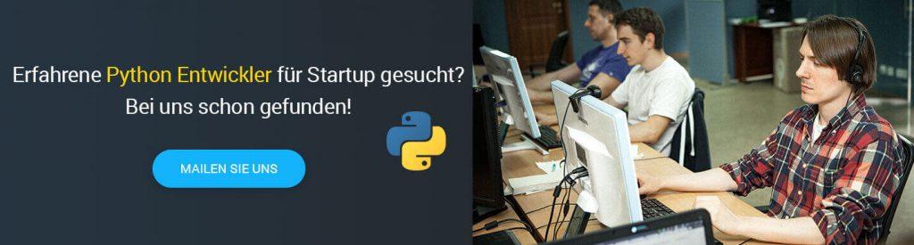 Python Programmierer gesucht
