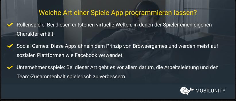 spiele app programmieren lassen