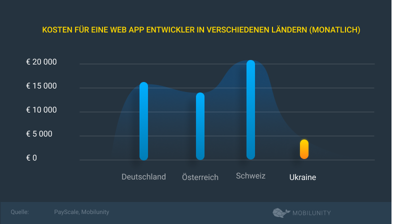 kosten fur Web App entwichker